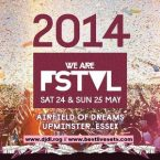 Fatboy Slim Live @ We Are FSTVL, Essex, London, UK (25 May 2014)