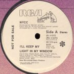NYCC ‎– I'll Keep My Light In My Window (1978)